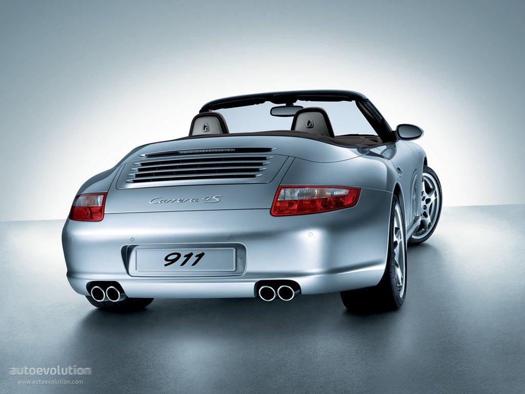 PORSCHE 911 Carrera 4S Cabriolet (997) specs & photos ...