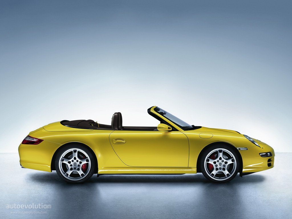 porsche 911 carrera s cabriolet 997 2005 2006 2007 2008 autoevolution. Black Bedroom Furniture Sets. Home Design Ideas