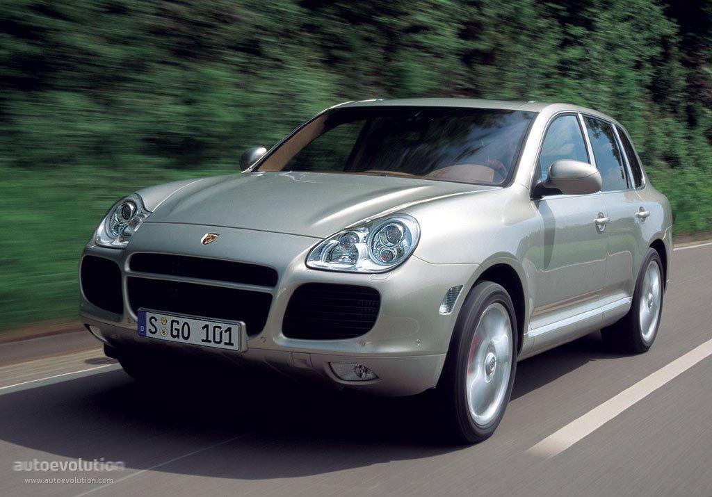 Porsche Cayenne Turbo 955 2002 2003 2004 2005 2006