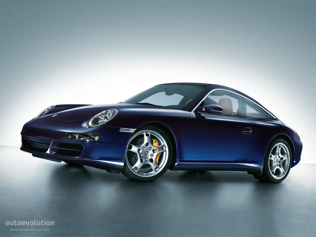 Porsche 911 Carrera Targa 4s 997 2006 2007 2008