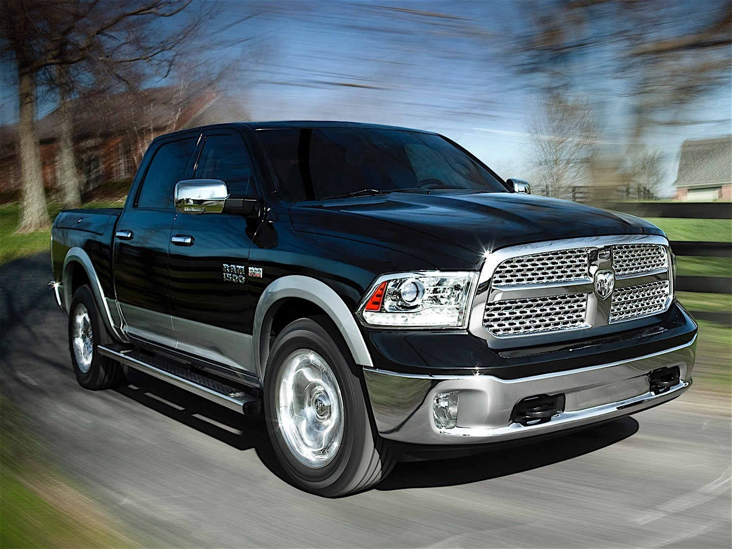 ram trucks 1500 crew cab 2013 2014 2015 autoevolution. Black Bedroom Furniture Sets. Home Design Ideas