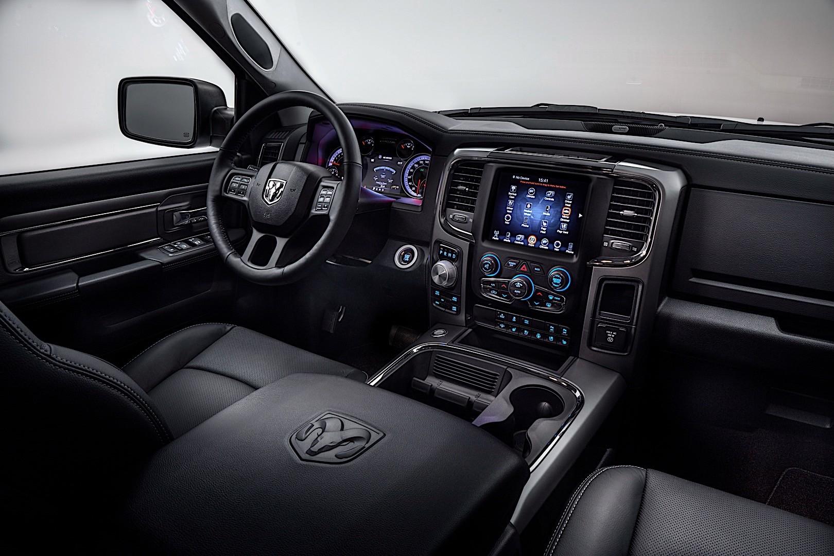 Dodge Ram Ecodiesel >> RAM Trucks 1500 Quad Cab specs & photos - 2015, 2016, 2017 ...