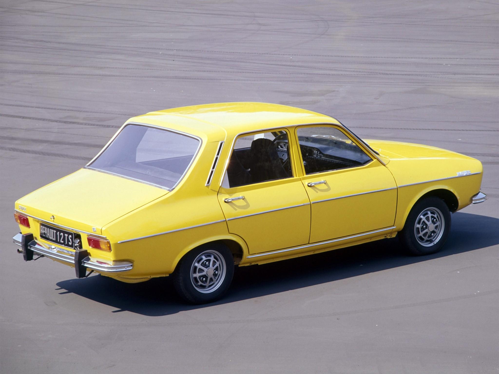 Renault 12 Specs 1969 1970 1971 1972 1973 1974