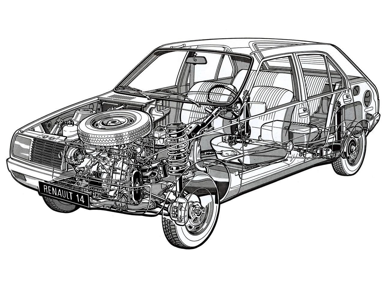 Renault 14 Specs Amp Photos 1976 1977 1978 1979 1980