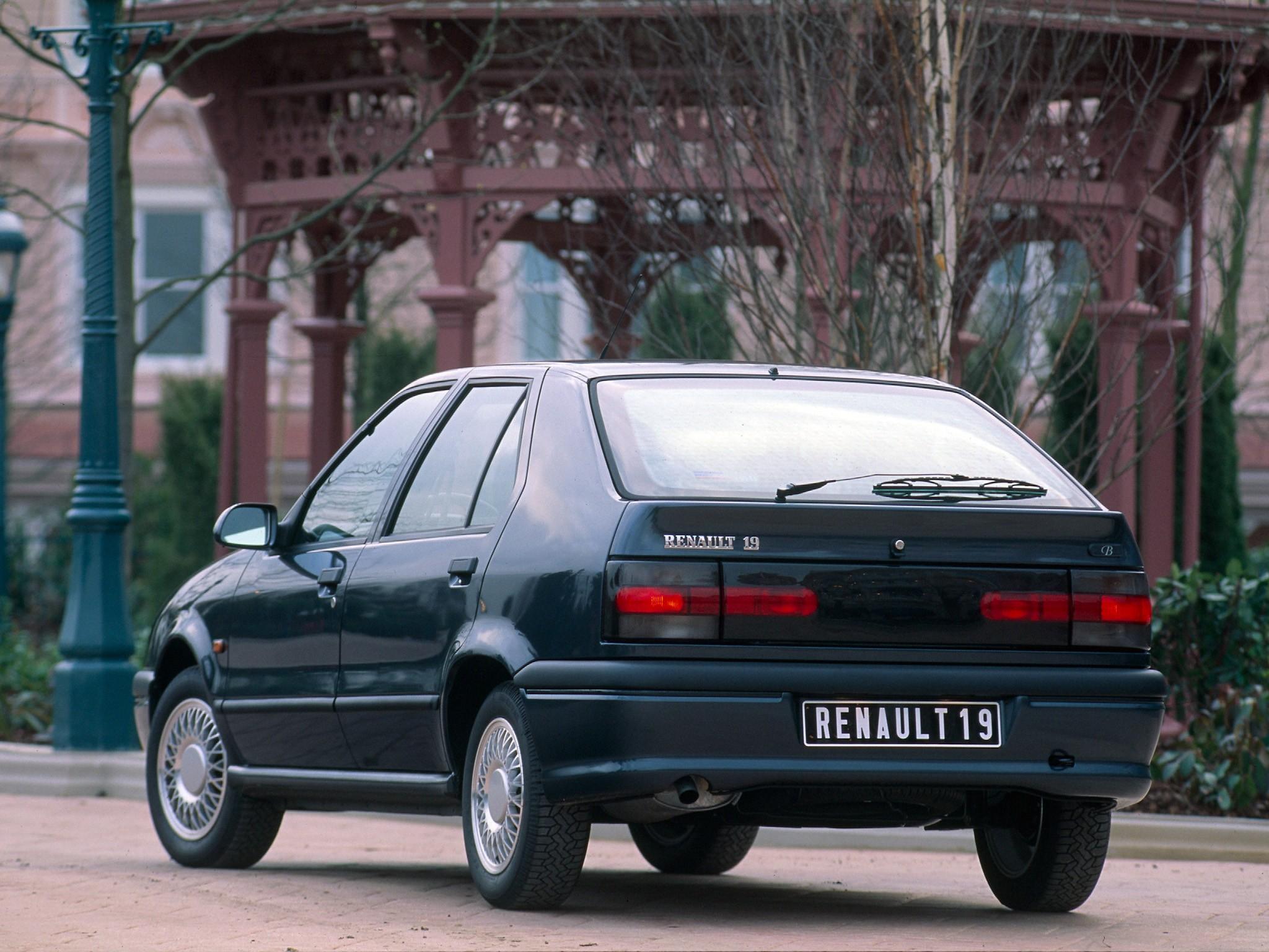 Renault 19 5 Doors Specs 1992 1993 1994 1995