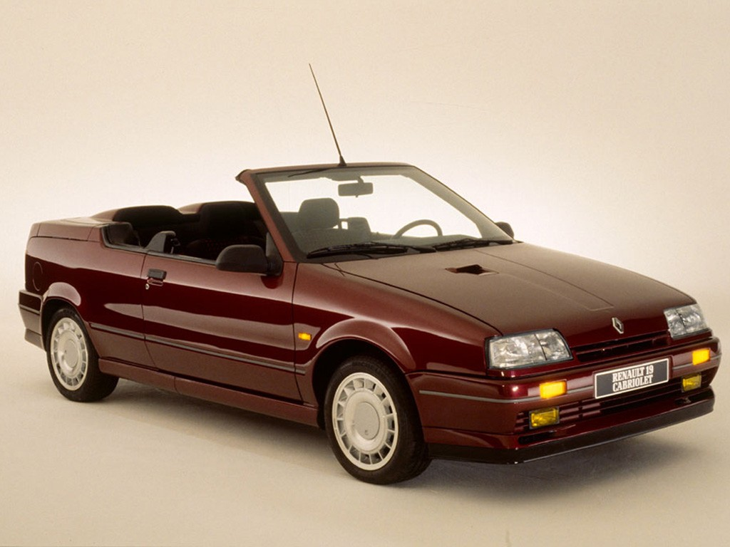 renault 19 cabrio specs 1992 1993 1994 1995 1996 autoevolution. Black Bedroom Furniture Sets. Home Design Ideas