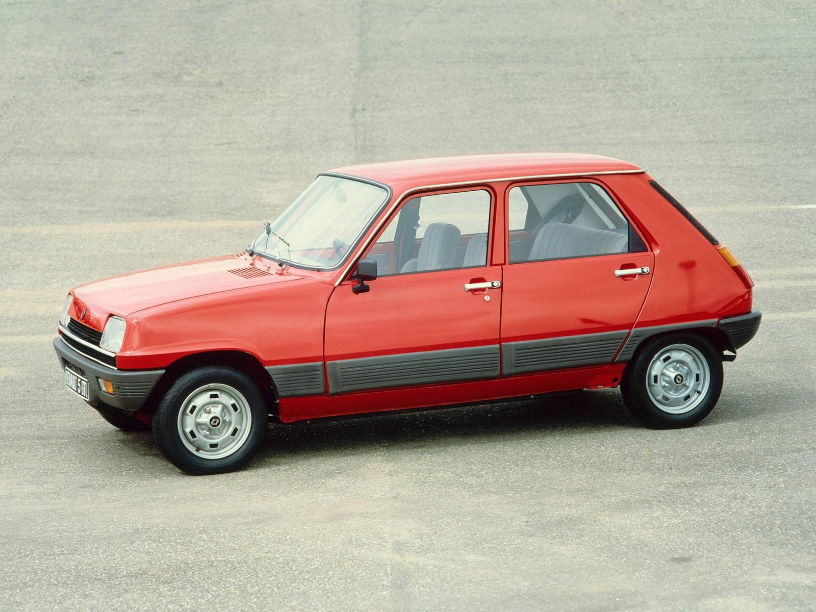 Renault 5 5 Doors 1972 1973 1974 1975 1976 1977