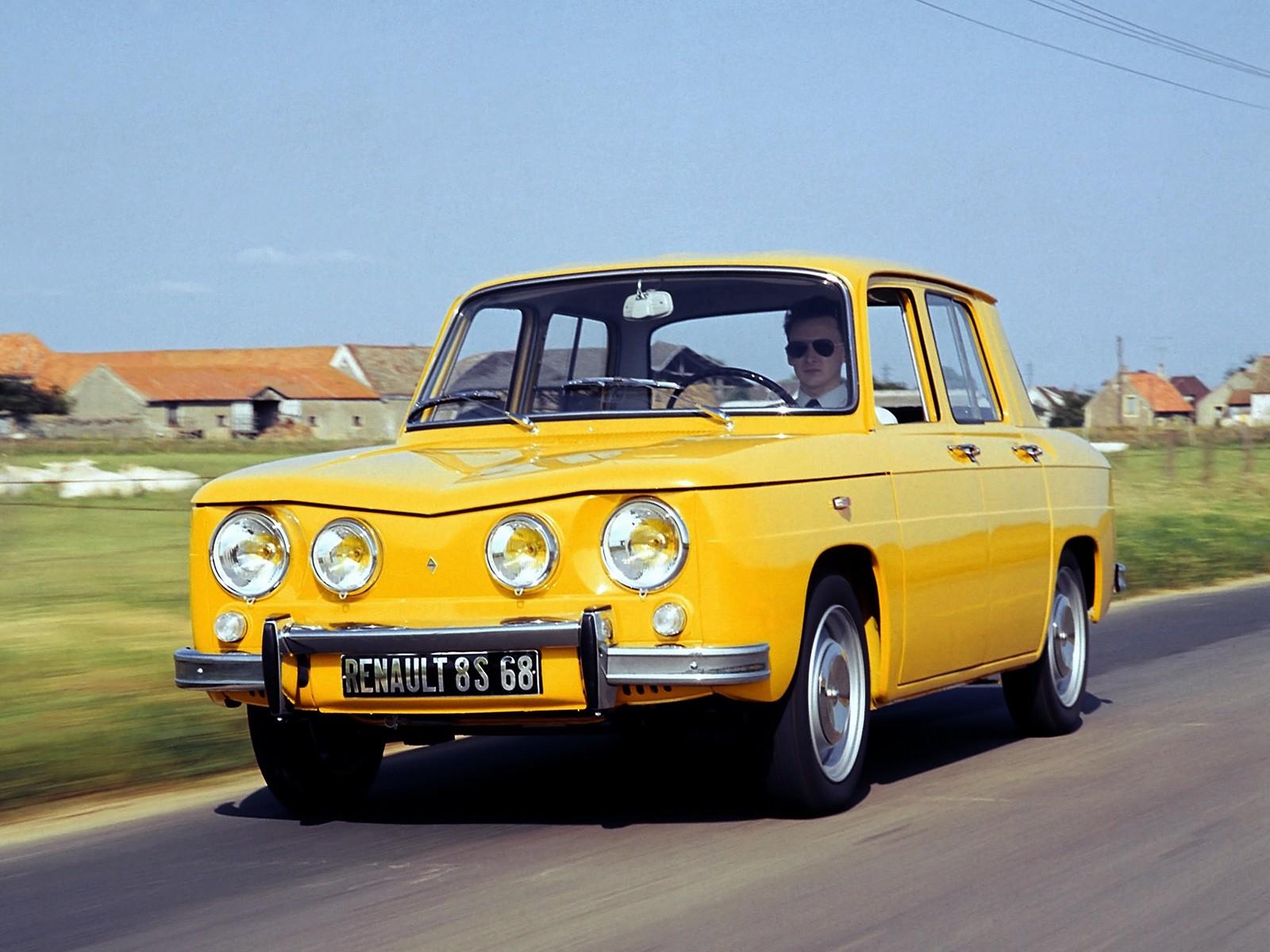 Renault 8 Specs 1962 1963 1964 1965 1966 1967 1968