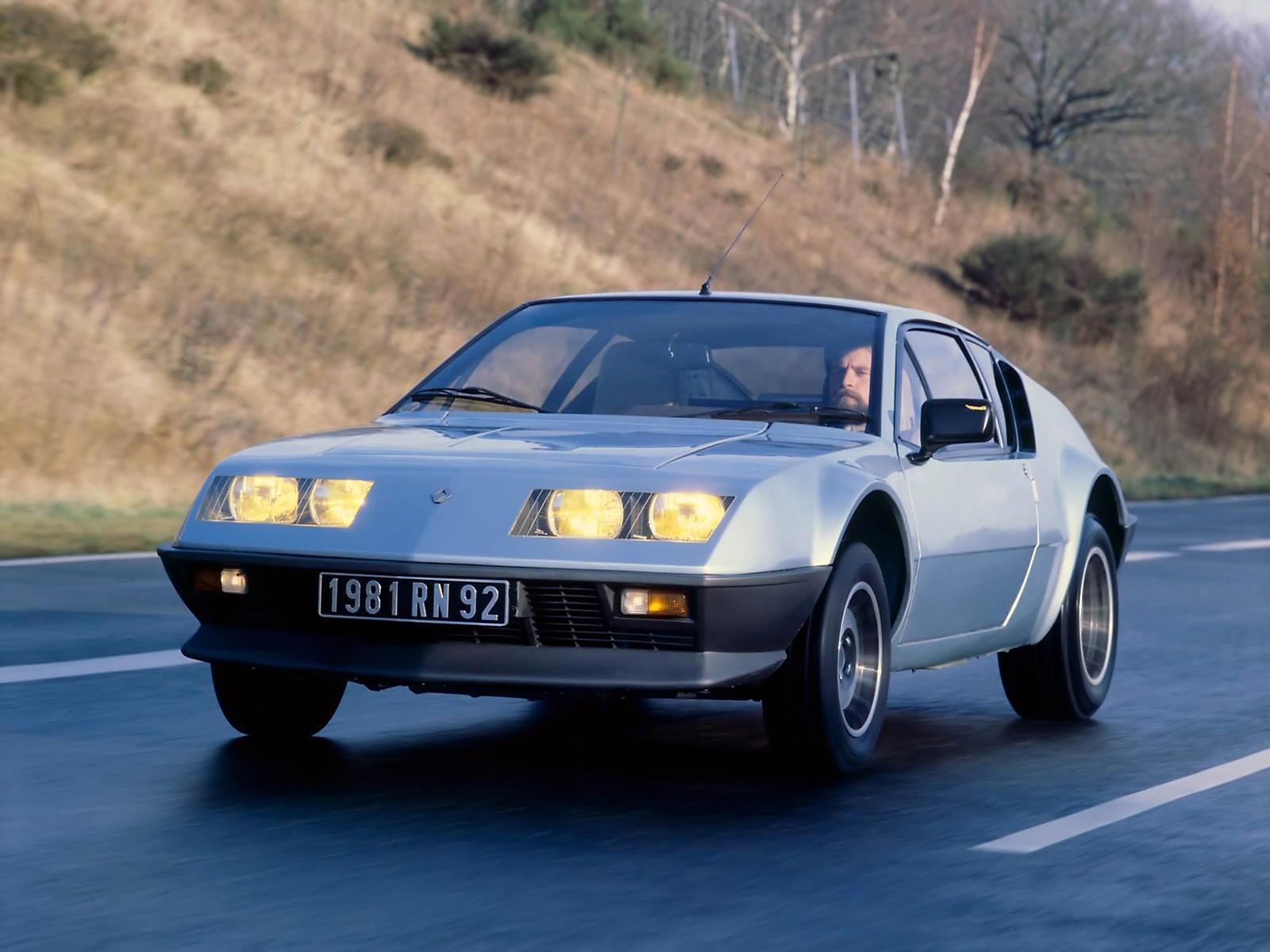 Renault Alpine A on V6 Cylinder Engine