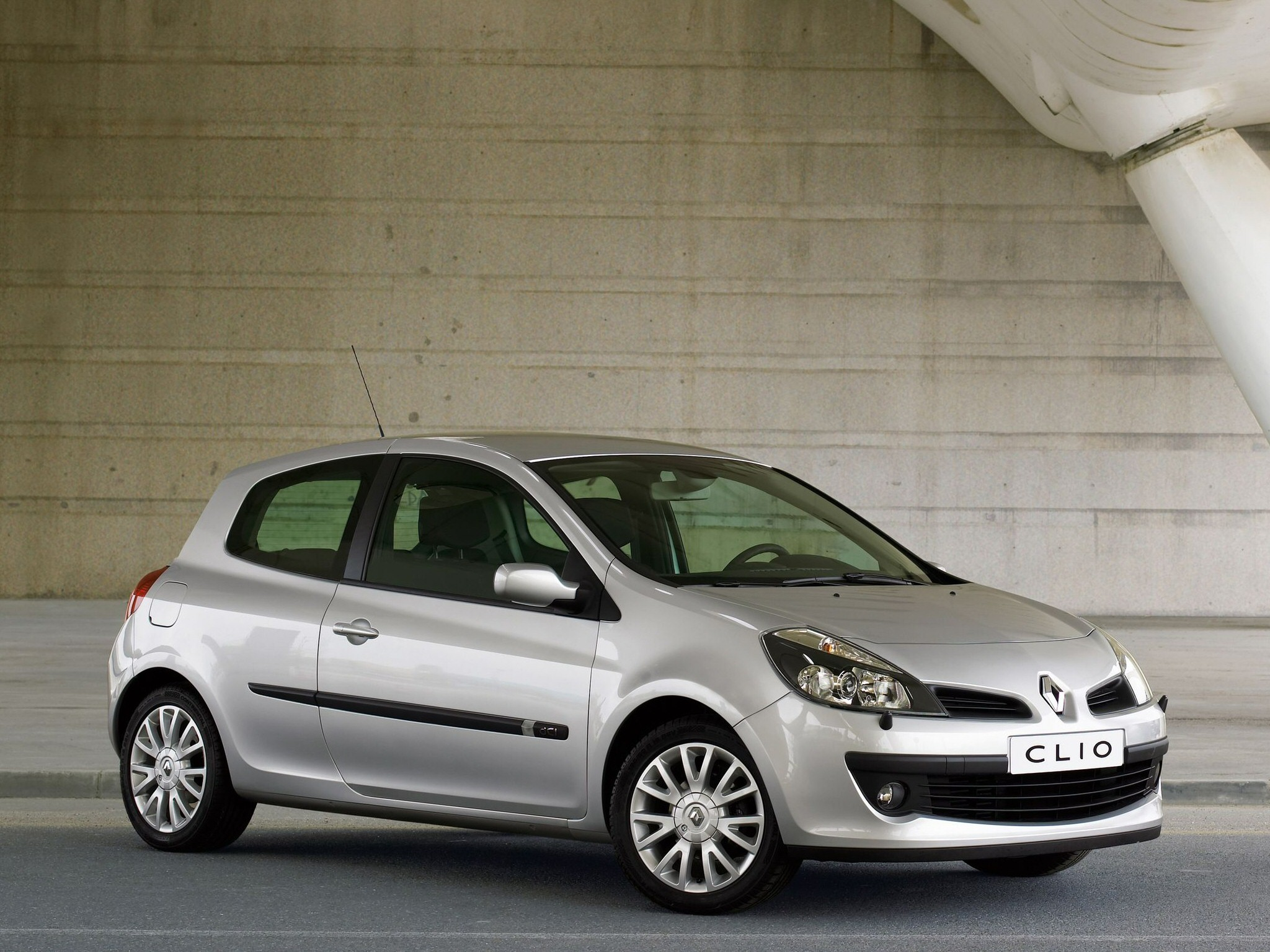 renault clio 3 doors specs photos 2006 2007 2008. Black Bedroom Furniture Sets. Home Design Ideas