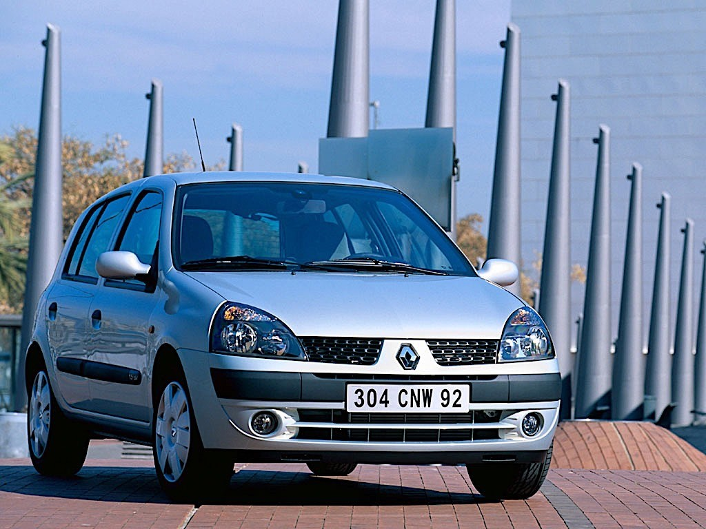 renault clio 5 doors specs photos 2001 2002 2003. Black Bedroom Furniture Sets. Home Design Ideas