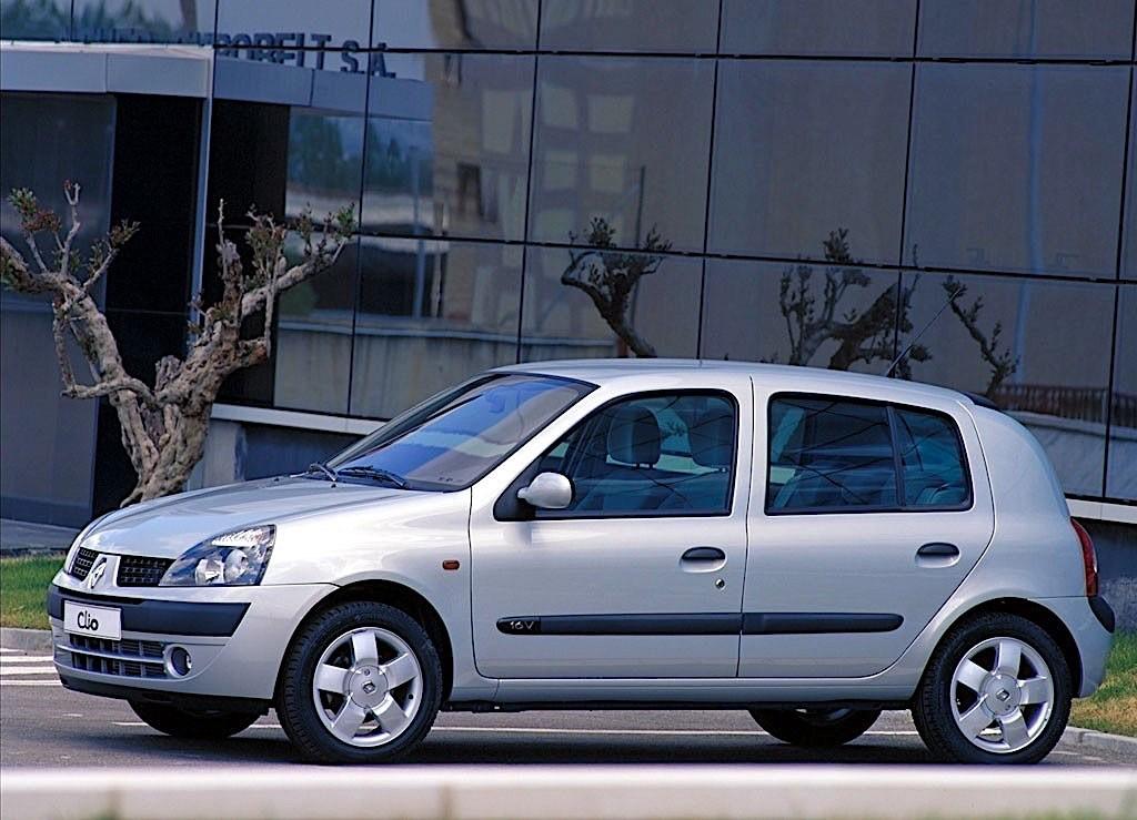 RENAULT Clio 5 Doors specs - 2001, 2002, 2003, 2004, 2005 ...