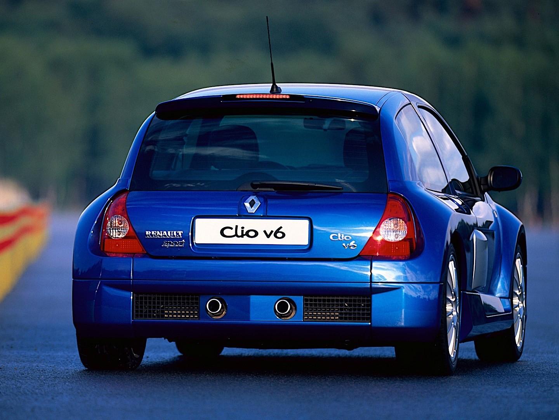 Renault Clio V6 Specs  U0026 Photos