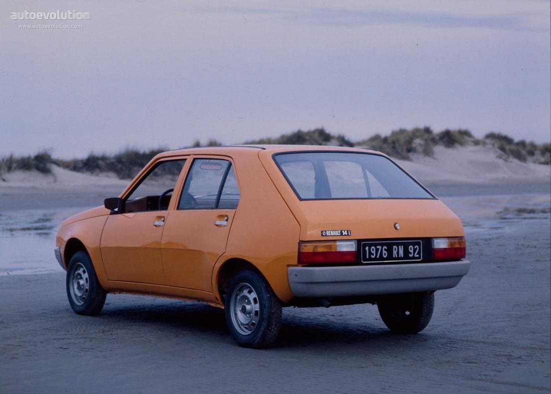 Renault 14 1976 1977 1978 1979 1980 1981 1982