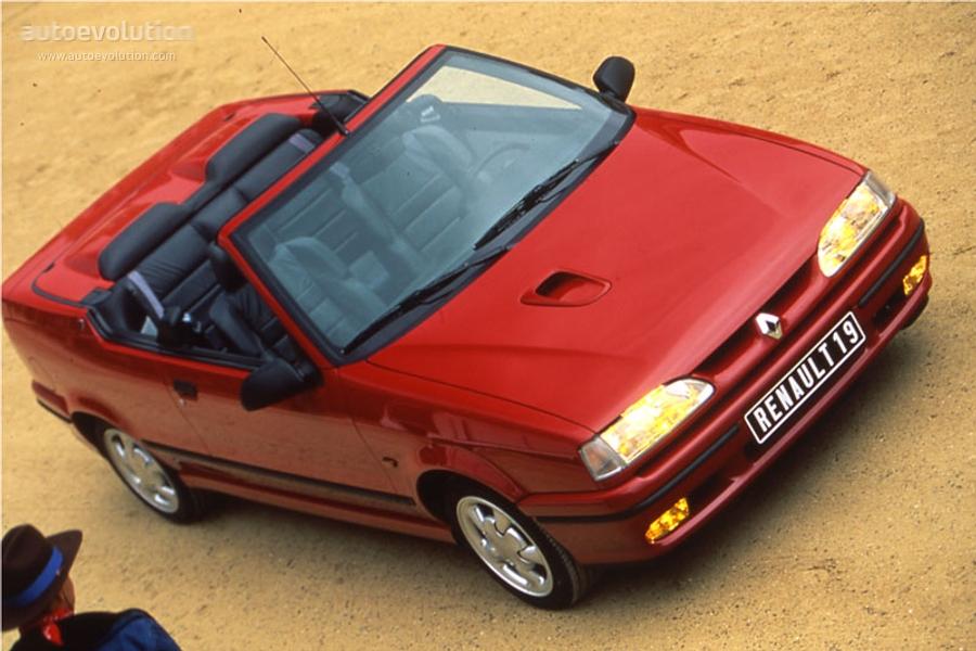 Renault 19 Cabrio Specs 1992 1993 1994 1995 1996