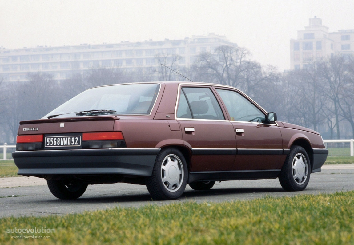 Ford All Wheel Drive Cars RENAULT 25 specs - 1984, 1985, 1986, 1987, 1988 ...