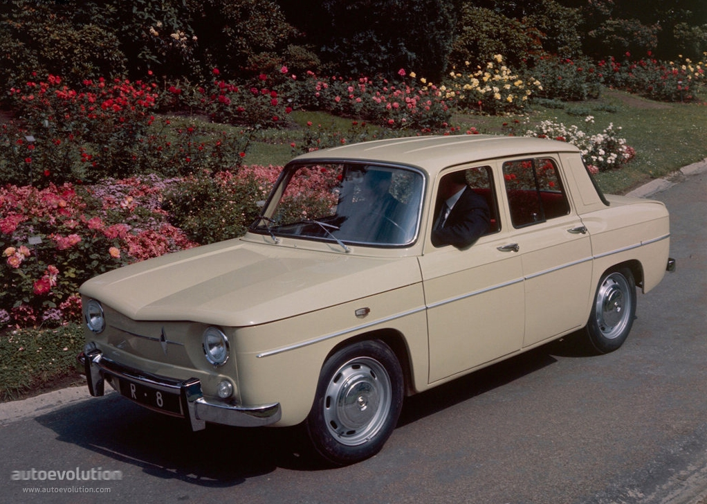 Renault 8 1962 1963 1964 1965 1966 1967 1968 1969