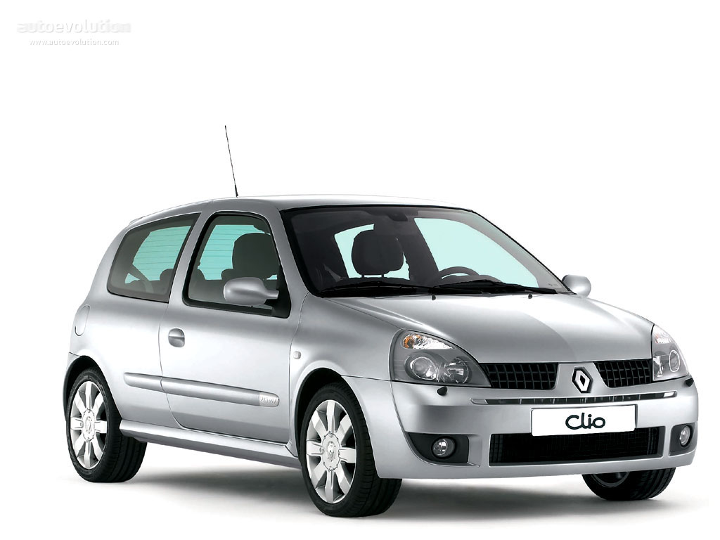 renault clio 3 doors specs 2001 2002 2003 2004 2005 2006 autoevolution. Black Bedroom Furniture Sets. Home Design Ideas