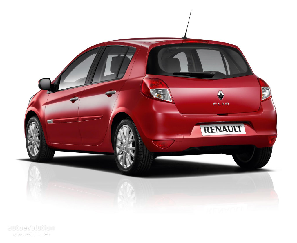 renault clio 5 doors specs photos 2009 2010 2011 2012 autoevolution. Black Bedroom Furniture Sets. Home Design Ideas
