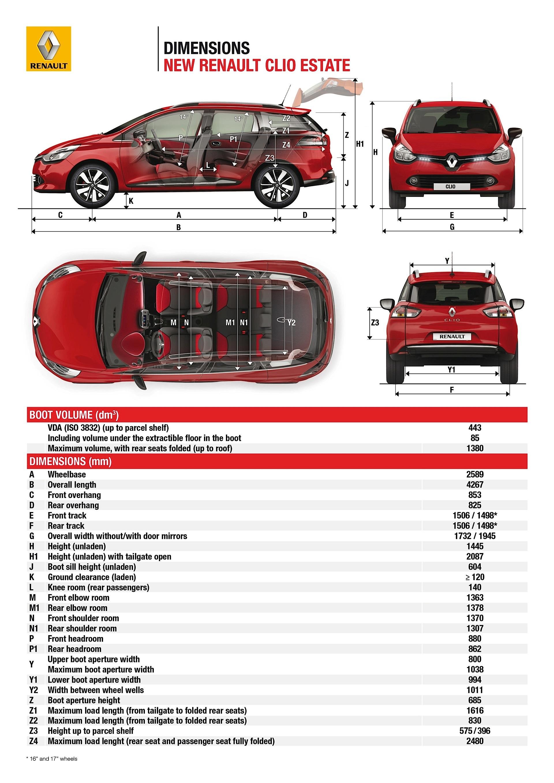 renault clio estate specs 2013 2014 2015 2016 autoevolution. Black Bedroom Furniture Sets. Home Design Ideas