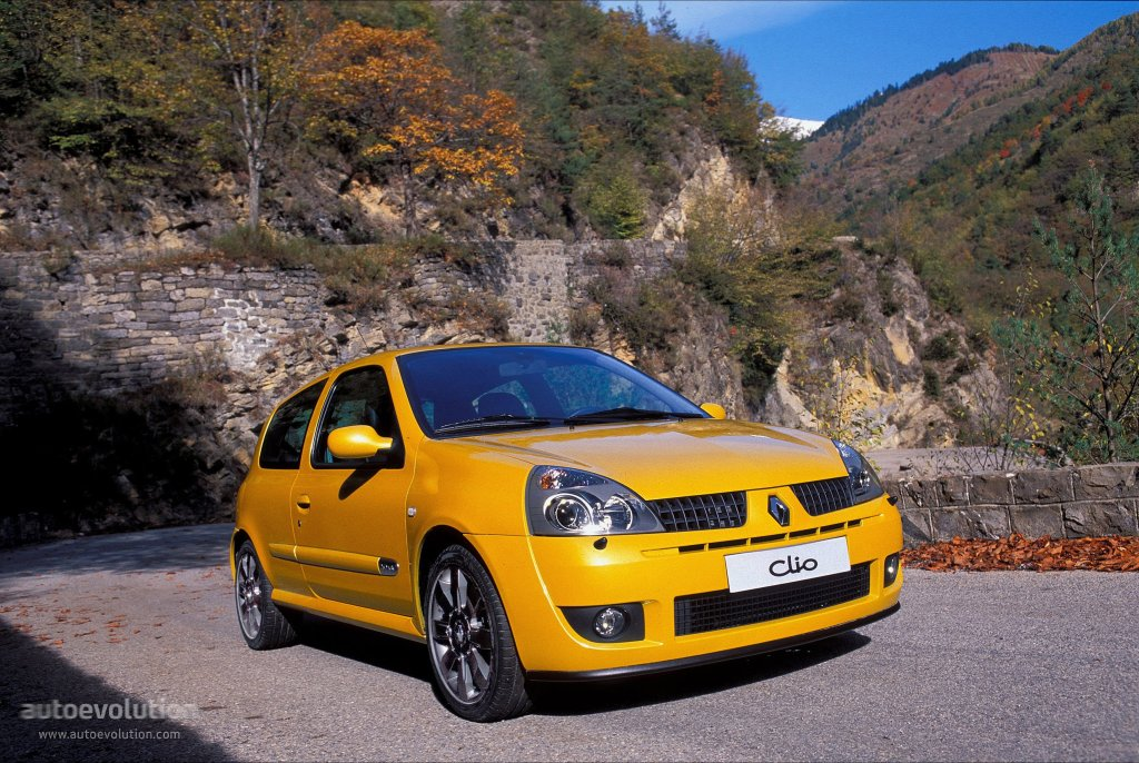 renault clio rs specs 2001 2002 2003 2004 2005 autoevolution. Black Bedroom Furniture Sets. Home Design Ideas