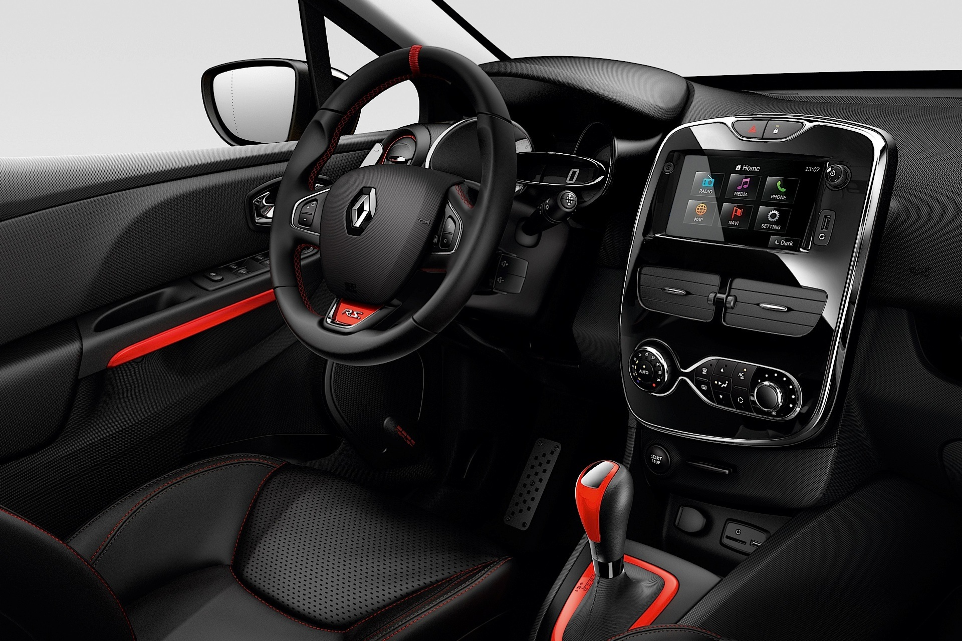 Renault clio rs specs 2013 2014 2015 2016 2017 for Interieur tuning auto