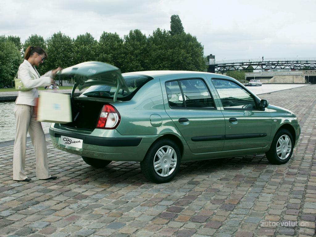 Renault Clio Symbol Thalia Specs 2000 2001 2002