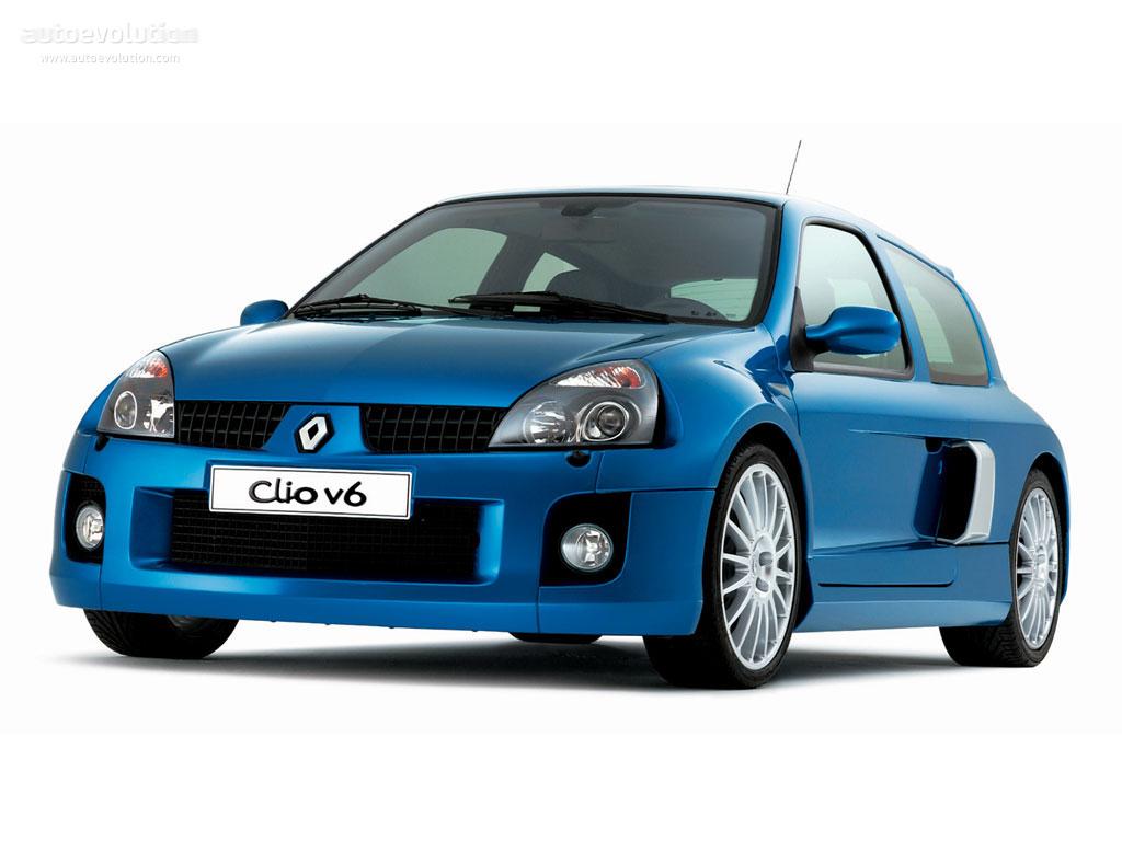 Renault Clio V6 Specs Amp Photos 2003 2004 2005