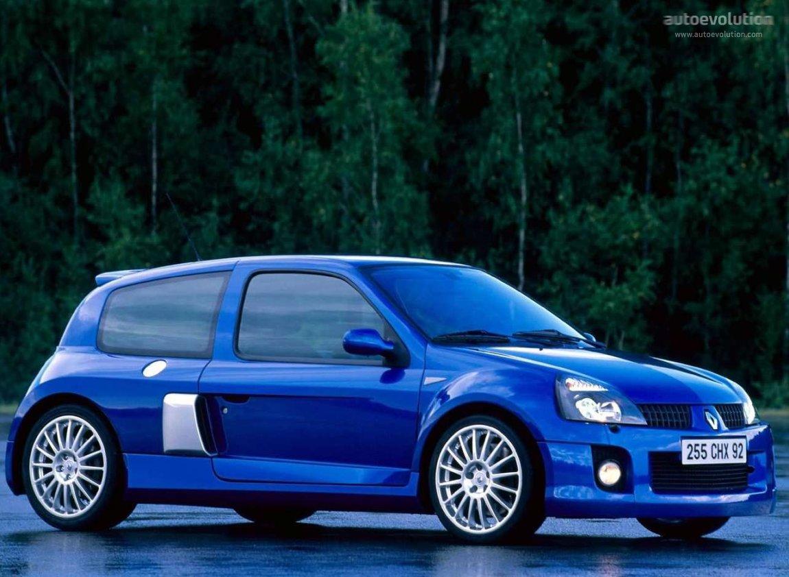 Renault Clio V6 2003 2004 2005 Autoevolution