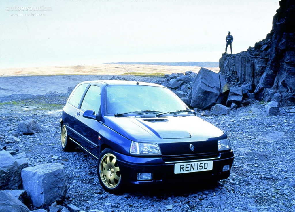 renault clio williams specs photos 1993 1994 1995 1996 autoevolution. Black Bedroom Furniture Sets. Home Design Ideas
