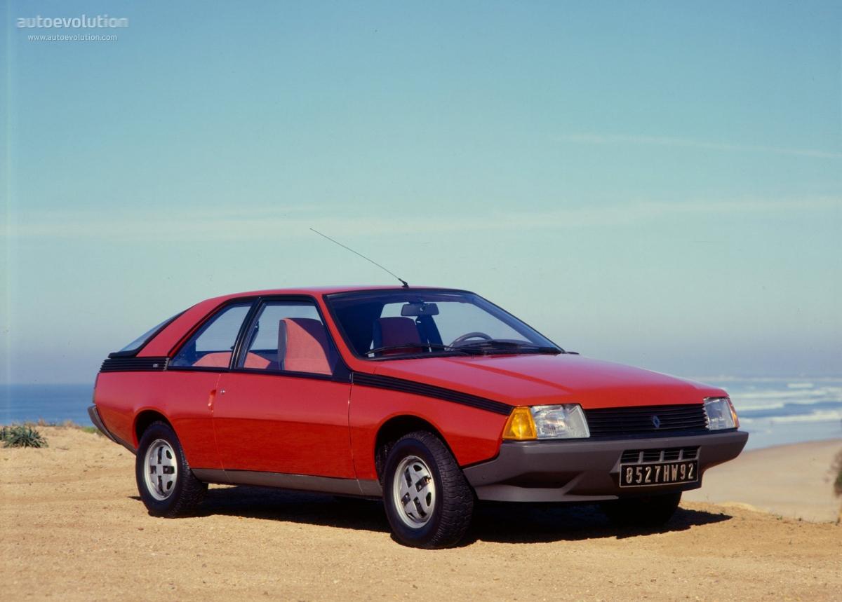 Renault Fuego Specs 1980 1981 1982 1983 1984 1985