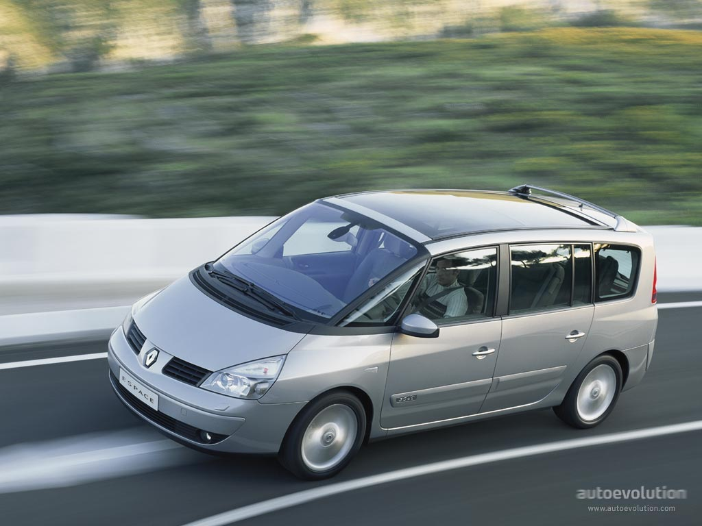 renault grand espace specs 2002 2003 2004 2005 2006 autoevolution. Black Bedroom Furniture Sets. Home Design Ideas