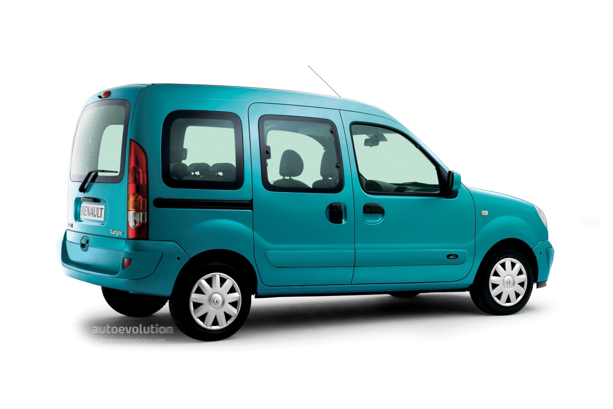 renault kangoo specs 2005 2006 2007 2008 autoevolution. Black Bedroom Furniture Sets. Home Design Ideas