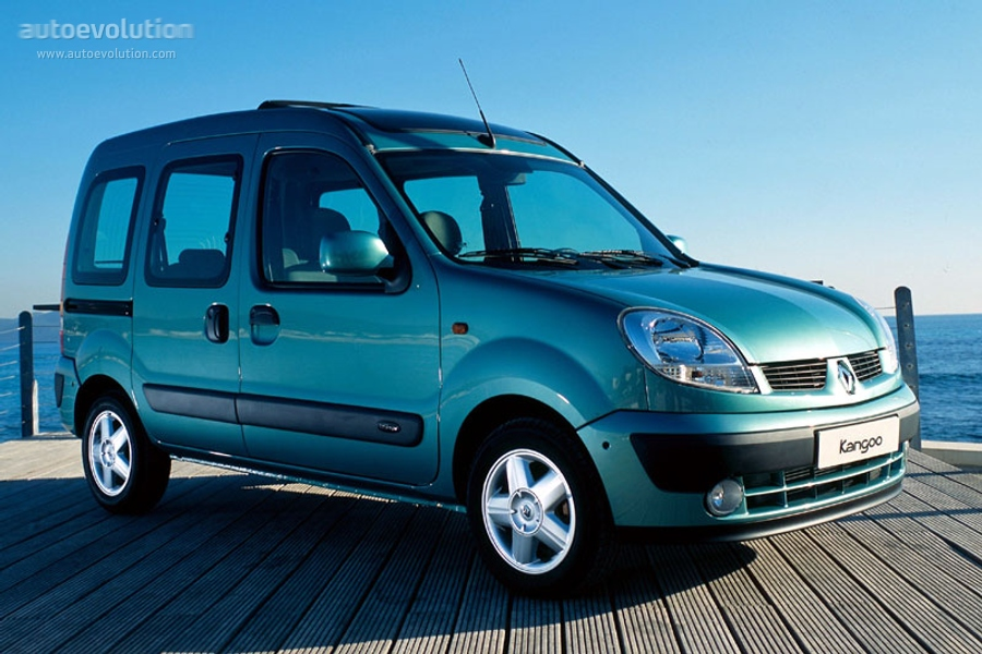 renault kangoo specs 2003 2004 2005 autoevolution. Black Bedroom Furniture Sets. Home Design Ideas