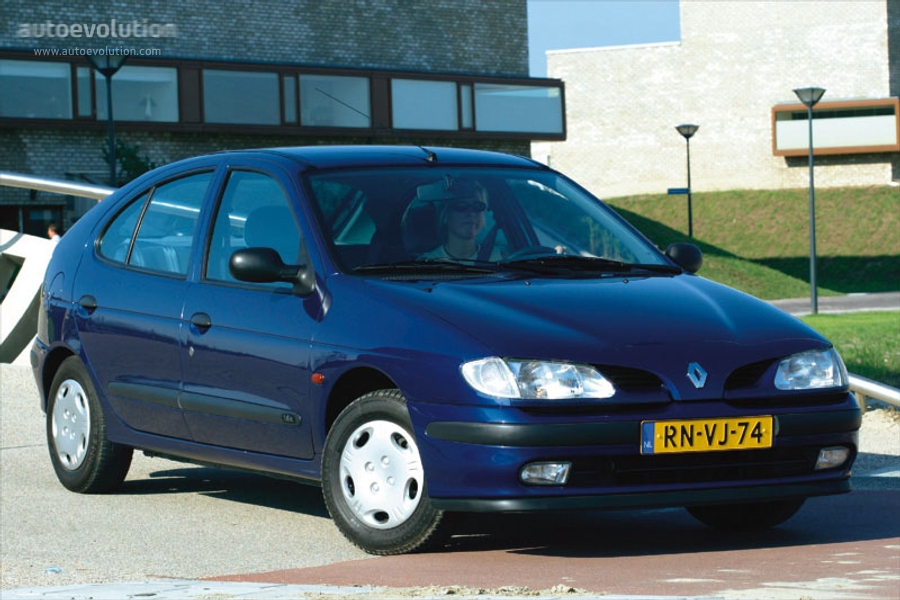 Renault Megane 5 Doors - 1996  1997  1998  1999