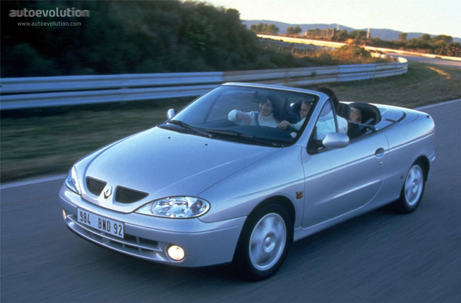 renault megane cabrio specs photos 1999 2000 2001. Black Bedroom Furniture Sets. Home Design Ideas