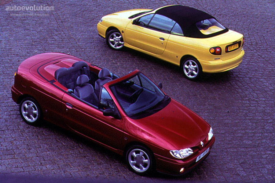 renault megane cabrio 1997 1998 1999 autoevolution. Black Bedroom Furniture Sets. Home Design Ideas