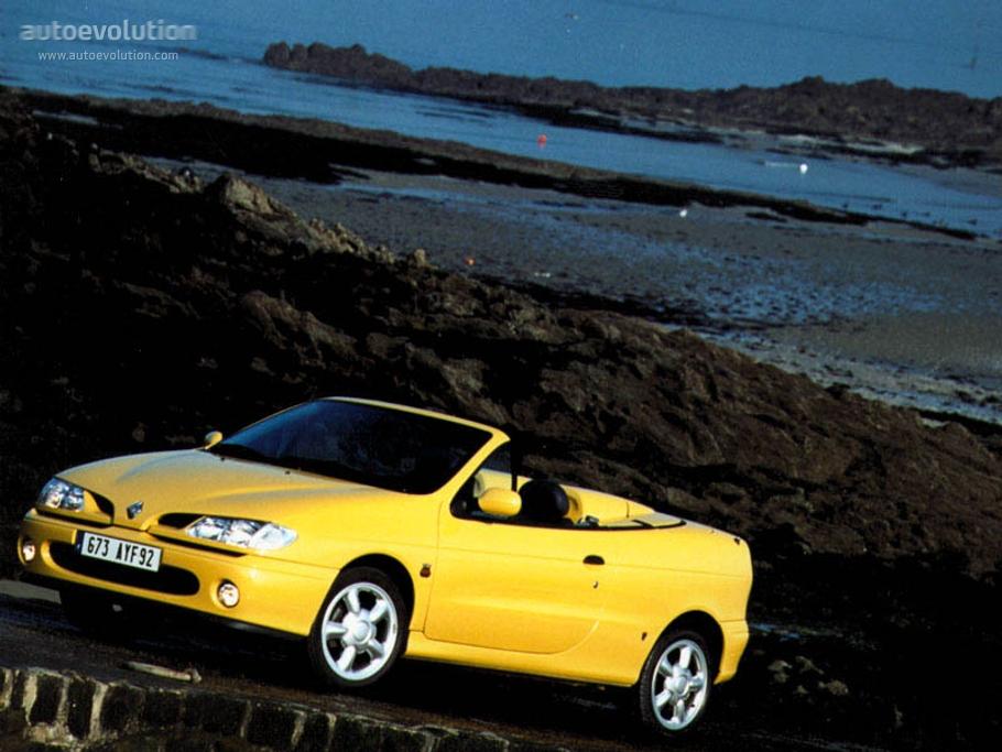 renault megane cabrio 1997 1998 1999 autoevolution. Black Bedroom Furniture Sets. Home Design Ideas