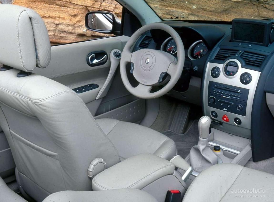 renault megane coupe cabrio specs 2003 2004 2005 2006 autoevolution. Black Bedroom Furniture Sets. Home Design Ideas