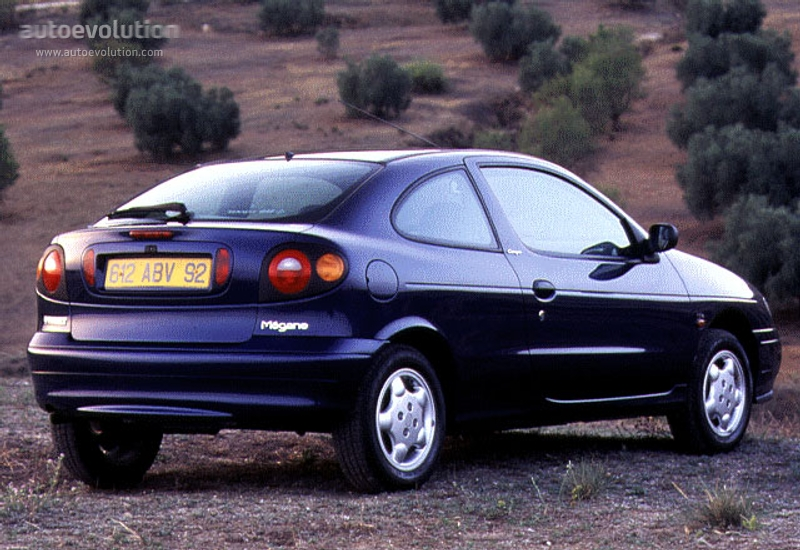 Chwalebne RENAULT Megane Coupe specs & photos - 1996, 1997, 1998, 1999 UJ71
