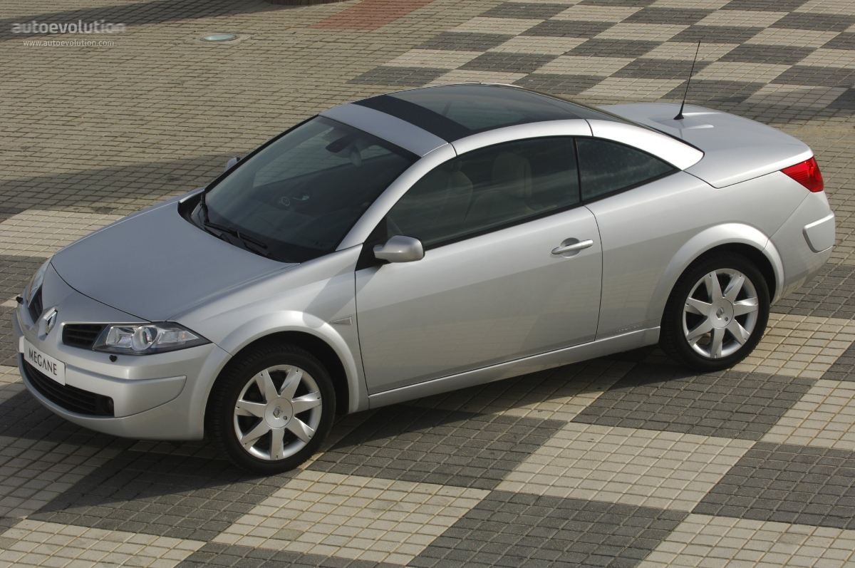 renault megane coupe cabrio specs photos 2006 2007. Black Bedroom Furniture Sets. Home Design Ideas