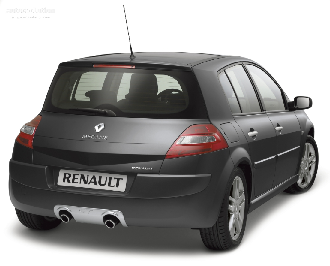 renault megane gt 5 doors specs 2006 2007 2008 autoevolution. Black Bedroom Furniture Sets. Home Design Ideas