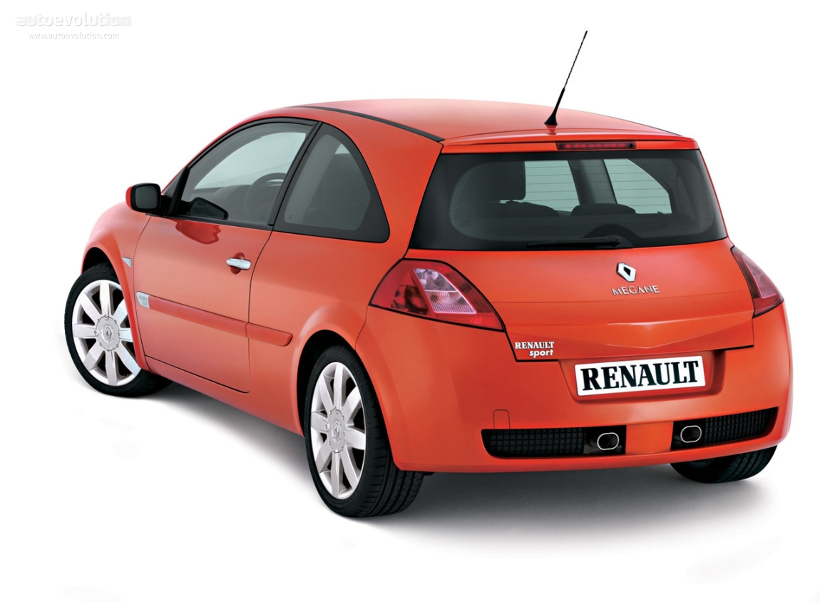 RENAULT Megane RS Coupe 2004 2005 2006 Autoevolution