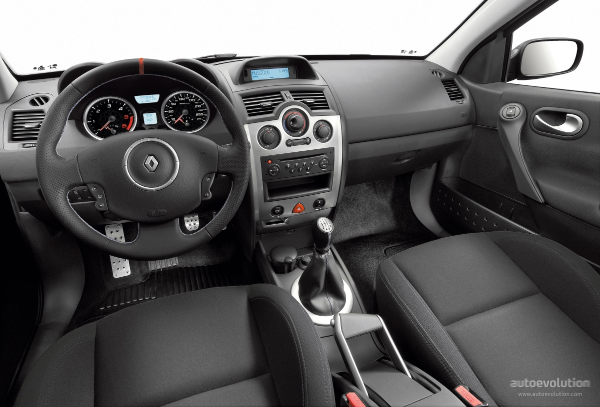 renault megane rs coupe specs 2006 2007 2008 2009 autoevolution. Black Bedroom Furniture Sets. Home Design Ideas