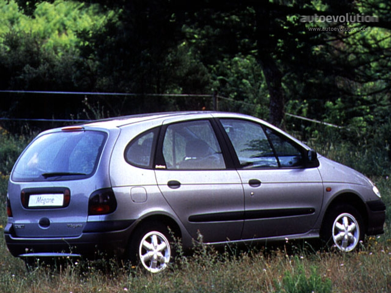 renault megane scenic specs photos 1995 1996 1997 1998 1999 autoevolution. Black Bedroom Furniture Sets. Home Design Ideas