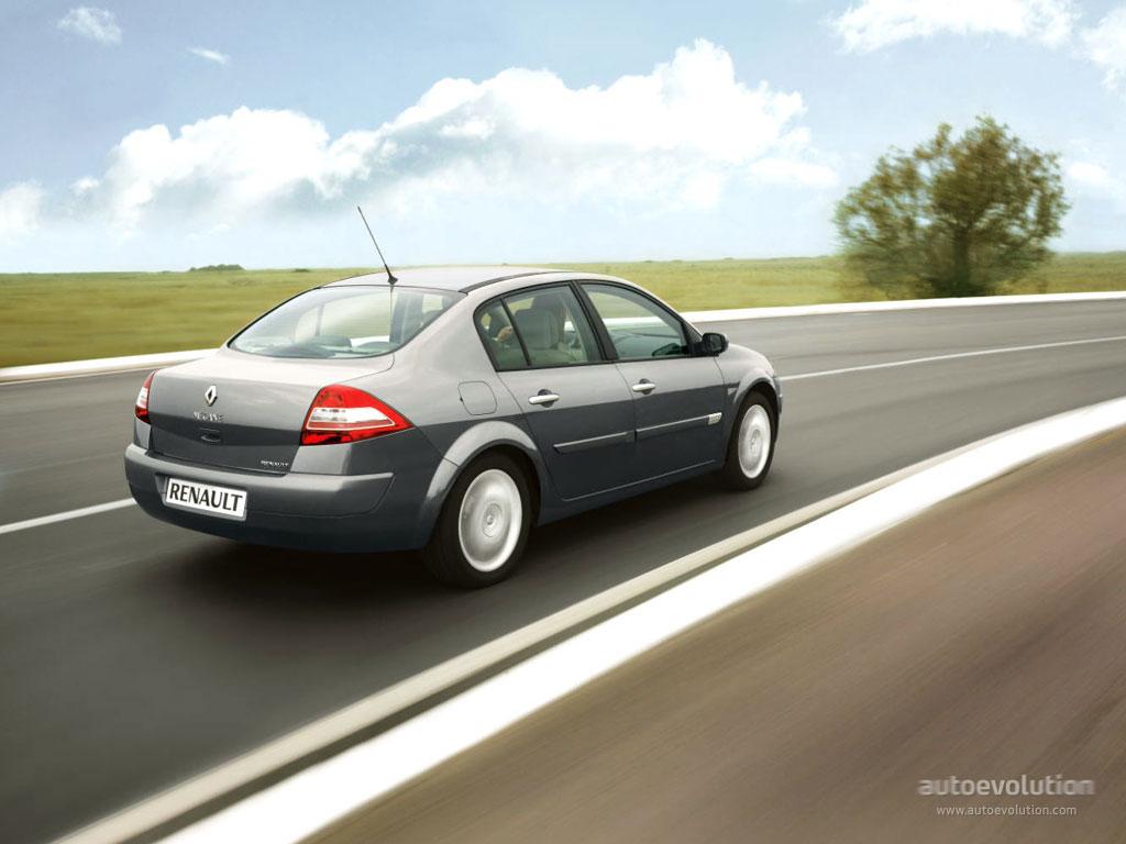 RENAULT Megane Sedan - 2003, 2004, 2005, 2006 - autoevolution