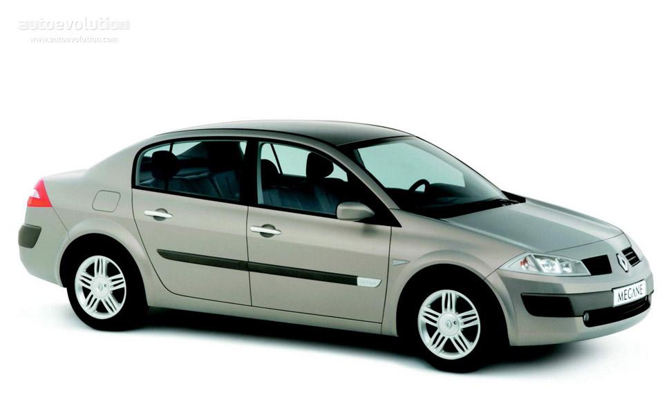 Renault Megane 2014 Sedan Exterior Renault Megane Sedan