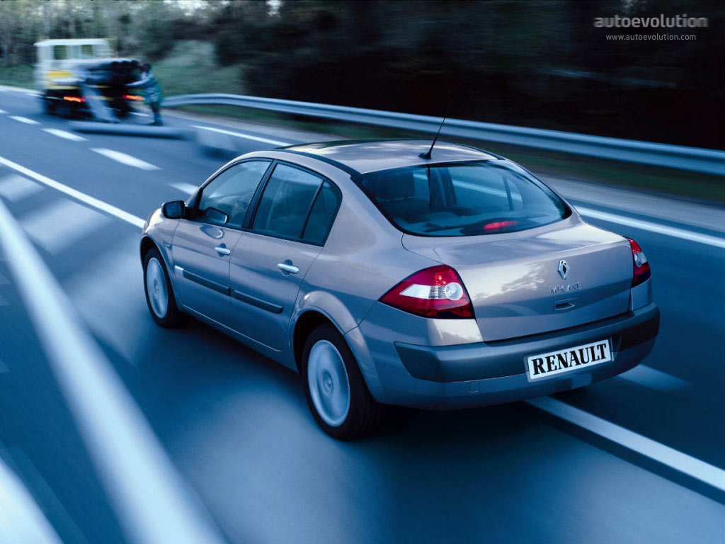RENAULT Megane Sedan - 2003, 2004, 2005, 2006 - autoevolution