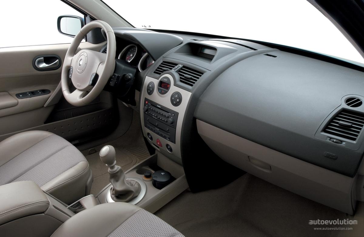 RENAULT Megane Sedan specs 2003 2004 2005 2006
