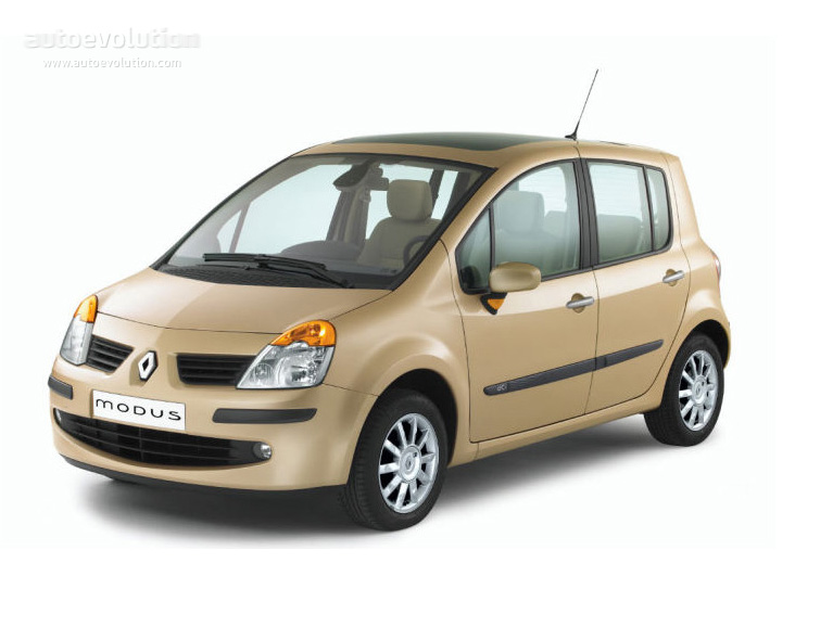 renault modus specs 2005 2006 2007 2008 autoevolution. Black Bedroom Furniture Sets. Home Design Ideas